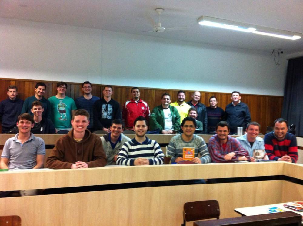 Estudantes do Seminário