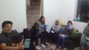 Grupo de Estudo Bíblico baseado no livrete 24x7